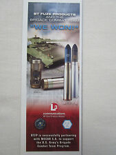 6/2003 PUB L3 COMMUNICATIONS BT FUZE PRODUCTS US ARMY BRIGADE COMBAT TEAM AD