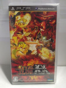 Metal Slug XX (2009) Brand New Factory Sealed Japan PSP Import