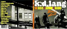 K.D. Lang & the Siss Boom Bang cd album- Sing It Loud