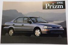 GEO BLUE PRIZM SHOWROOM NOS 95 PROMO 1995 CHEVY DEALER DEALERSHIP POSTCARD