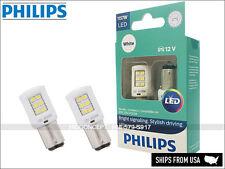 1157 Philips ULTINON Reverse Backing Signal LED Bulbs WHITE 1157ULWX2 Pack of 2