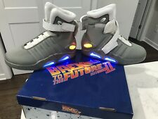 Back to the Future 2 Licensed Universal Studios air mags Size 7 Michael J. Fox