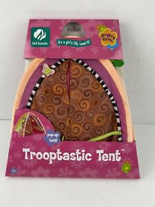 "Girl Scout 13"" Groovy Girls Doll Trooptastic Tent 2006 New"