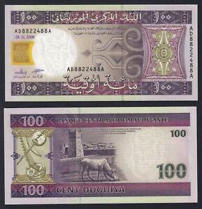 Mauritania 100 ouguiya 2008 FDS/UNC  A-05