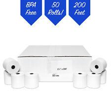 2 14 X 200 Thermal Paper Samsung Er 650 Er 650r Er 5200 Epson Tm L90 50 Roll