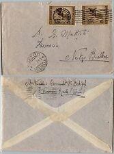 REGNO-Due 30c ROSSINI(467) su cartolina Torino- Netro 16.7.1943