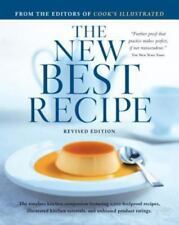 The New Best Recipe by Cook's Illustrated Magazine. 0936184744 Hardcover Book. A