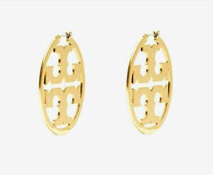 Tory Burch classic Big temperament Ring shape Earrings