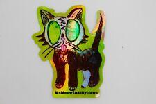 """Maow Kitty"" New Holographic sticker of Original art by MsMeowtaKittyclaws"