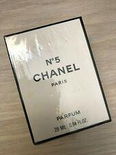 CHANEL No 5 pure parfum flacon 28ml/.9oz Vintage *Rare* SEALED BOX