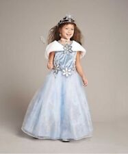 NWT CHASING FIREFLIES WINTER PRINCESS BLUE GOWN/SHAWL SNOWFLAKE SNOW COSTUME 8