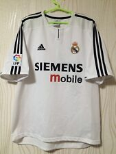REAL MADRID 2002 2003 ADIDAS HOME FOOTBALL SOCCER SHIRT JERSEY BECKHAM #23