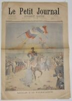 Le Petit Journal N° 566 - du 22 septembre 1901
