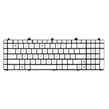 For ASUS N55 N55S N55SL Series Laptop Keyboard US Backlit No Frame Silver