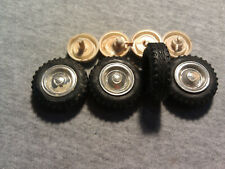 Vintage 1/25 Scale Jeep Wheels and Tires