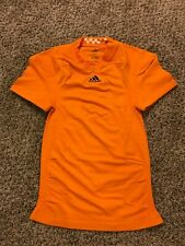 Tennessee Volunteers Adidas Techfit Shockweb Game Worn Used Issued Blank Jersey