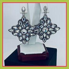 Brighton Maharani SITARA Swarovski Crystal Post Dangle Earrings Je6122