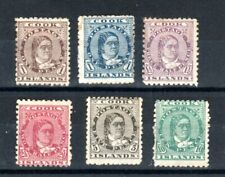 Cook Islands 1893-1900 set to 10d MH