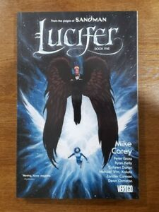LUCIFER Deluxe Edition Book Five / Vol. 5 TPB OOP NEW 2013 DC Comics Mike Carey