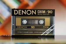 DENON DXM/90 METAL BIAS type IV audio cassette