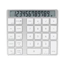 Wireless White LED Indicator Mini Digital Numeric Keyboard Keypad For Laptop PC