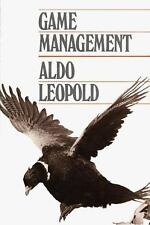 Game Management by Aldo Leopold (1986, Paperback, Reprint)