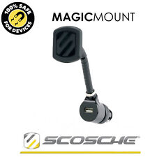 SCOSCHE MAGIC MOUNT MAGNETIC USB MOUNT MOBILE SMART PHONE IPHONE IPOD SAT NAV