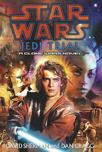 1st UK Ed Star Wars: Jedi Trial by Dan Cragg Hardcover