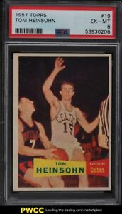 1957 Topps Basketball Tom Heinsohn SP ROOKIE RC #19 PSA 6 EXMT