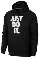 Nike Men's Sportswear Just do it Swoosh Logo Graphic Pullover Hoodie