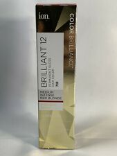 ION Brilliance Permanent Gloss Hair Color Brilliant 12 Medium Intense Red Blonde