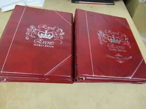 PRINCESS DIANA MINT STAMPS COLLECTION IN 4 ALBUMS 21ST BIRTHDAY + GUTTER PAIRS