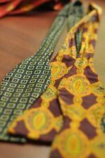 HERMES BOWTIE Silk Necktie Mens Lot of 2