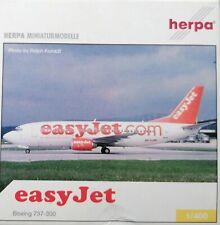 Herpa Wings 1:400 560702 EasyJet - Boeing B 737-33V - HB-IIJ