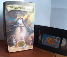 The Lord Of The Rings (1978) Animated New & Sealed VHS Video (Cardboard Case)