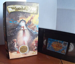 Lord Of The Rings (1978) Animated  New & Sealed  VHS Video Tape (Cardboard Case)