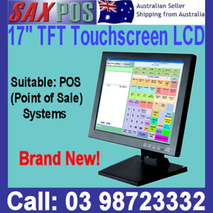 """NEW SAXPOS 170S 17""""Inch LCD TFT SERIES 50 Touch Screen Monitor FOR POINT OF SALE"""