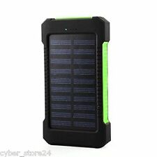NEW 300000mAh DualUSB Portable Solar Battery Charger For All Smart Phones-Green