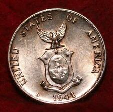 1944 Philippines 10 Centavos Silver Foreign Coin