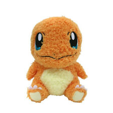"Sekiguchi Moko Moko Collection 7"" Fluffy Pokemon Go Plush Doll Charmander"