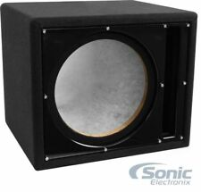 "New! Belva Bbx110Bk 10"" Car Audio Ported Subwoofer Box Enclosure w/ Black Baffle"