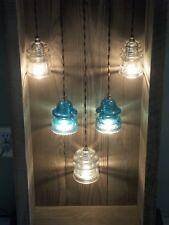 Cabinet Insulator Light Display Case Barnwood Shadow Box Farmhouse Glass ART