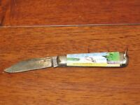 VINTAGE RICHARDS SHEFFIELD SINGLE BLADE ENGLAND POCKET KNIFE-NIAGRA FALLS-CANADA