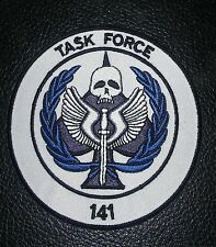 TASK FORCE 141 IRON ON ® BRAND FASTENER PATCH