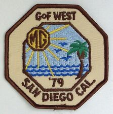 """MG patch new 1979 San Diego, CA """"Gathering of the Faithful"""" 4"""""""
