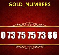 GOLD BUSINESS VIP EASY TESCO VODA VODAFONE EE GOLDEN NUMBER 07375757386