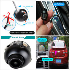 Car Front Side Rear View 360 Rotate Waterproof Wide Angle Backup Parking Camera