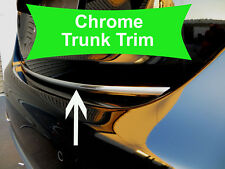 Fit HyunModels 2004-2018 Tailgate TRUNK Trim Molding - CHROME Style