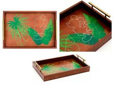 More details for disney parks mickey mouse tropical hideaway wooden serving tray hideaway collect