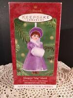 "Hallmark Keepsake Ornament Collector Series Margaret ""Meg"" March Little Women NI"